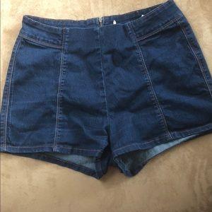 Cotton On Shorts - Retro high waisted shorts